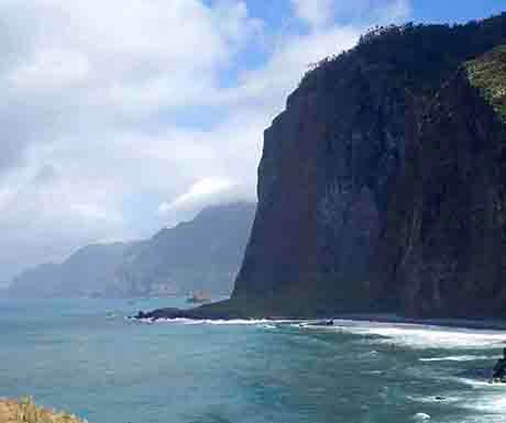 dramatic landscape cliffs, Madeira