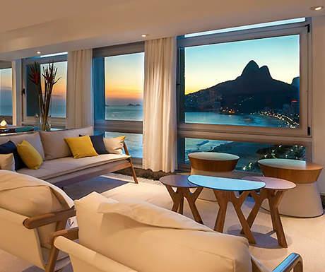 Caesar Park luxury hotel Rio