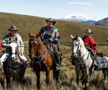 Ecuador cowboys
