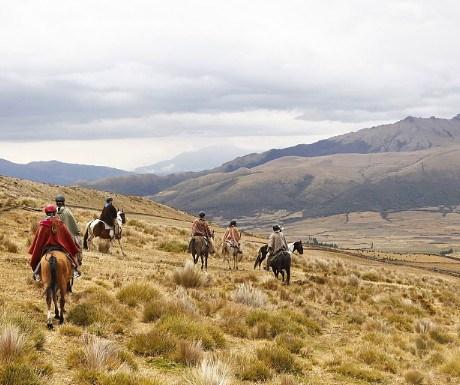 Ecuador range riding