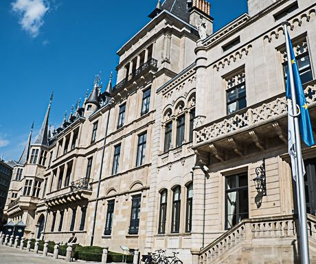 Luxembourg-Grand Ducal Palace