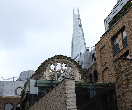 London, old and new: Winschester Palace3