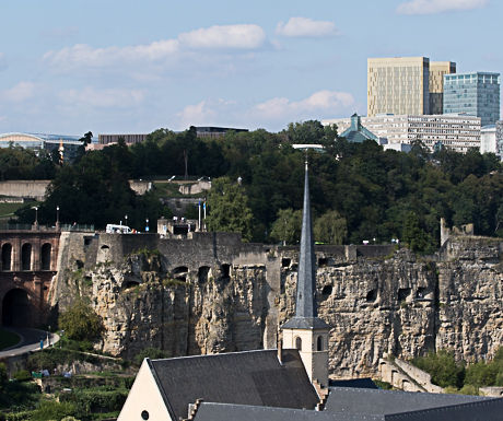 Luxembourg-Then and Now