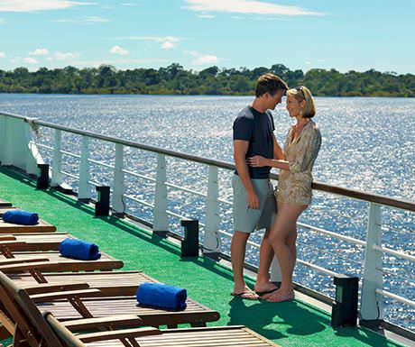 Luxury Amazon yacht
