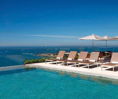 Miramar luxury hotel Rio