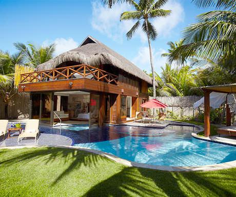 Nannai bungalow and pool