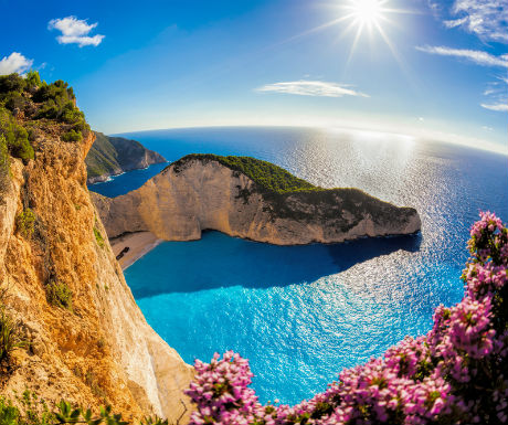 Zakynthos Greece Shipwreck Bay