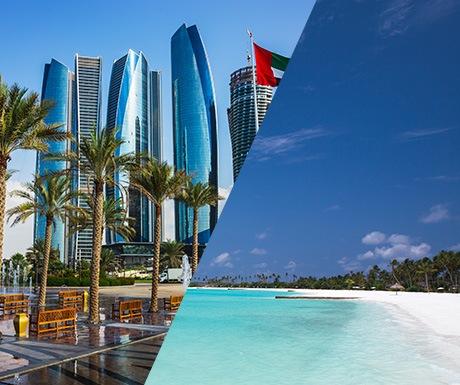 Abu Dhabi and Maldives
