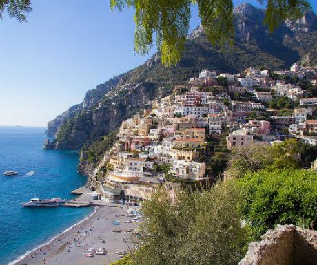 Amalfi Coast Italy  celebrity holiday destinations