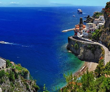 Amalfi-Road