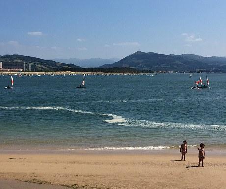 Beach in Santona
