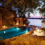 Candelit dinner at Tongabezi Lodge Victoria Falls