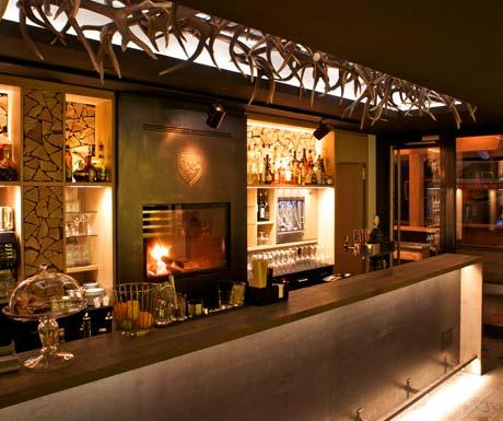 Cervo - slickest bar in Zermatt