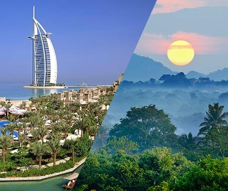 Dubai and Sri Lanka