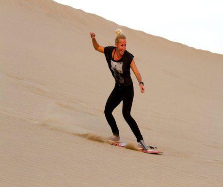 Dune Surfing Paracas