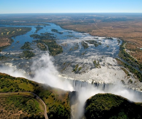 High Water at Victoria Falls Victoria Falls Lodge