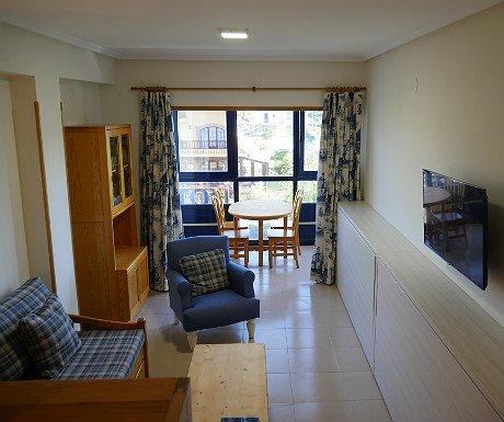 Hotel Juan de la Cosa living space