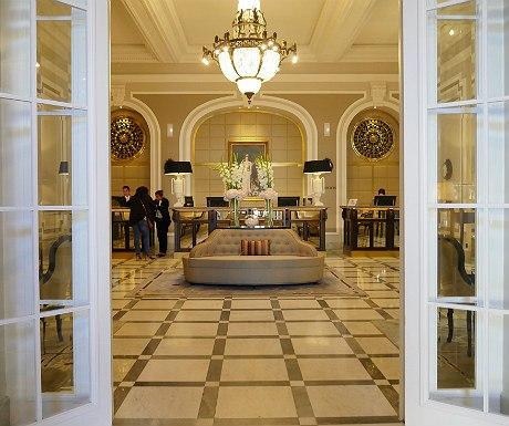 Hotel Maria Cristina hotel entrance