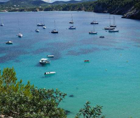 Ibiza Spain celebrity holiday destinations