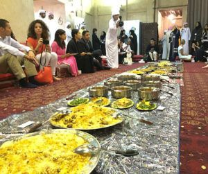 What's it like to attend an iftar in Dubai?
