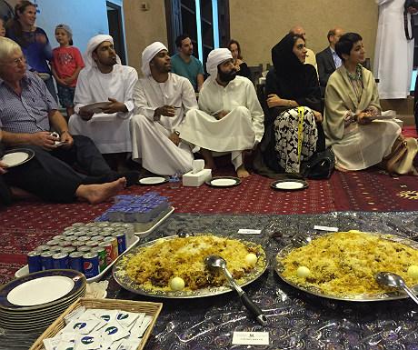 Iftar guests