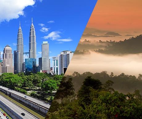 Kuala Lumpur and Borneo
