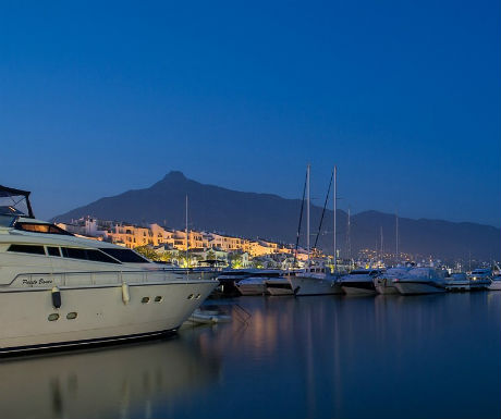 Marbella Spain  celebrity holiday destinations
