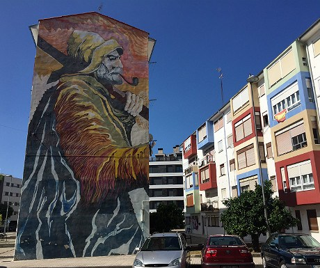 Mural in Santona