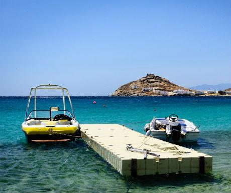 Mykonos Greece  celebrity holiday destination