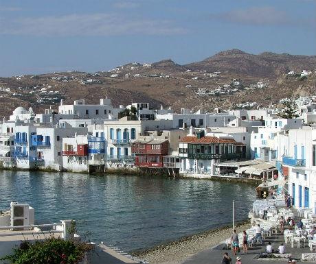 Mykonos Greece  celebrity holiday destinations