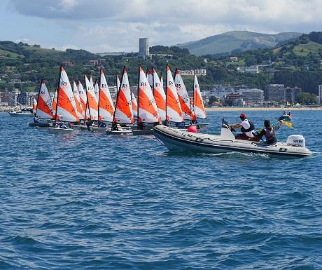 Sailing in Santona
