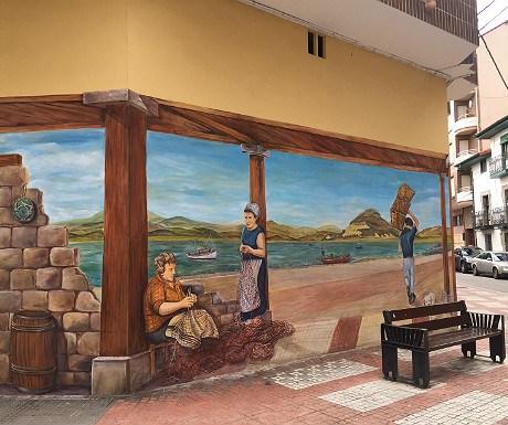 Street art in Santona