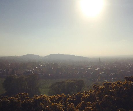 Sunset at Blackford Hill
