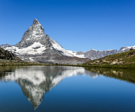 Swiss Alps  celebrity holiday destinations