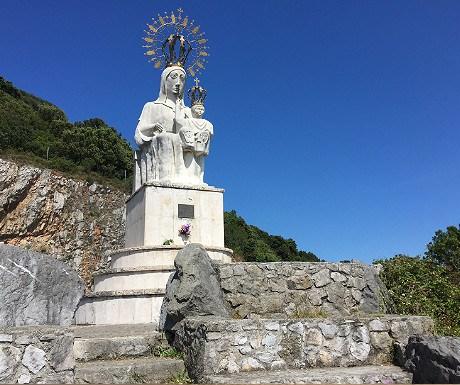 Virgen del Puerto in Santona
