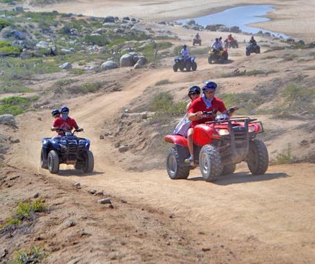 ATV rides in Los Cabos Mexico with Amigos Cabo Moto Rent