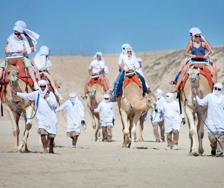 Camel Ride Tours with Cabo Advnetures in Los Cabos Mexico