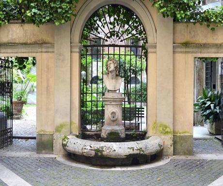 secret rome courtyards
