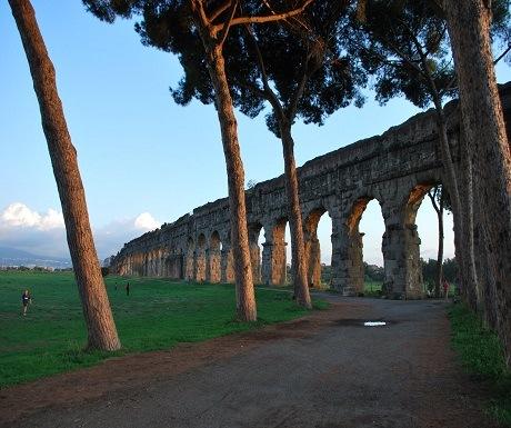 secret rome parco degli acquedotti