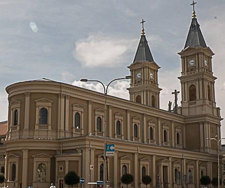 the Roman Catholic Cathedral of the Divine Saviour
