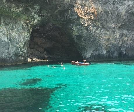 Blue Grotto, Comino, Malta
