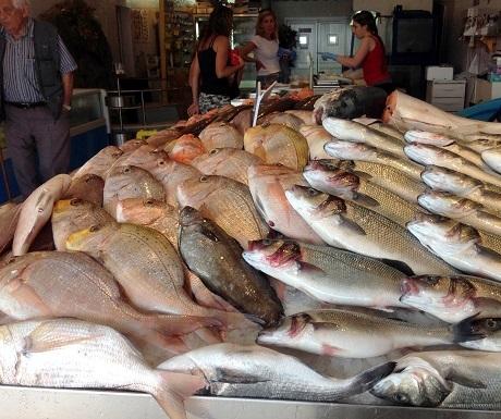 Fish market in Malta