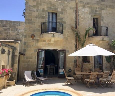 Luxury villa in Gozo, Malta