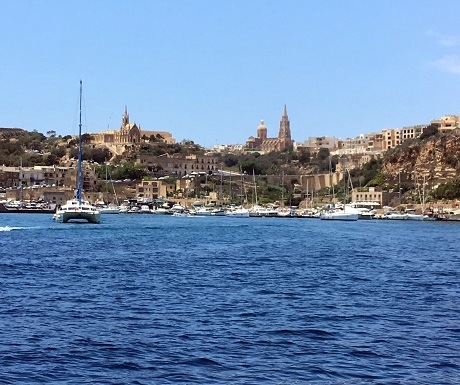 View from the sea, Malta