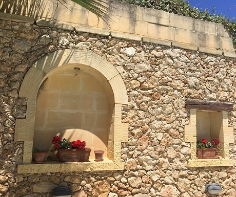 Village walk through Gozo, Malta