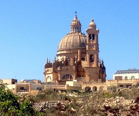 One of the 359 cathedrals in Valetta, Malta