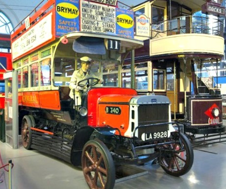 Things in london with kids - london transport museum
