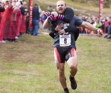 Wife Carrying Run