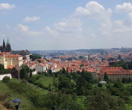 view on Castle, Prague