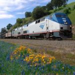 Luxury train travel in North America